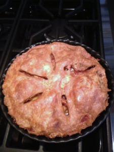 mom bloggers make pie